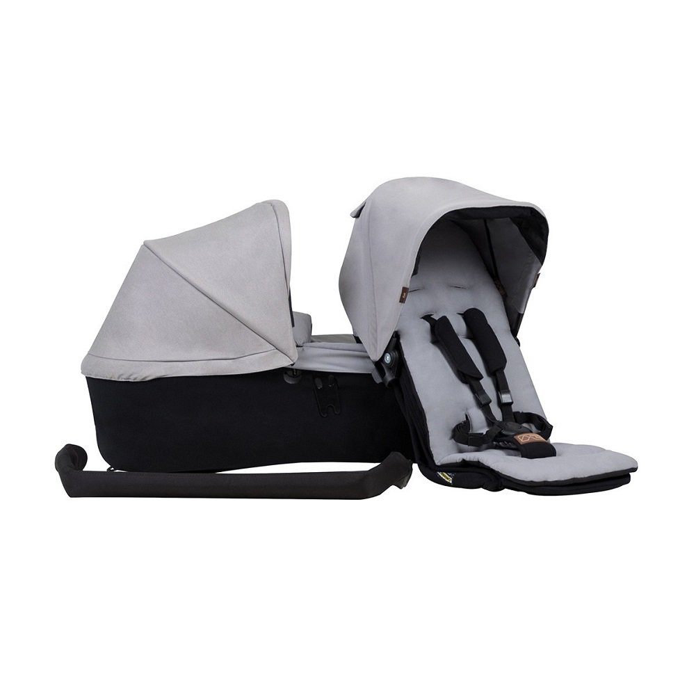 Mountain Buggy Duet 3.0 Family Pack in Silver