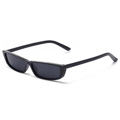 0cefdc7f4407 Vintage Rectangle Sunglasses Women Small Frame Sun Glasses Square Eyewear:  Amazon.co.uk: Clothing