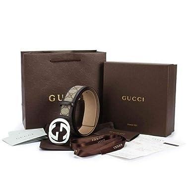 Gucci - Ceinture en cuir pour homme DOUBLE G (397660APOON1000) - noir, 85 d976dd3f0f1