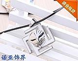 TKHNE Anime surrounding death mask necklace pendant jewelry skull necklace pendant couple