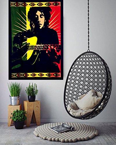 ANJANIYA Bob Marley Beautiful Bohemian Room Dorm