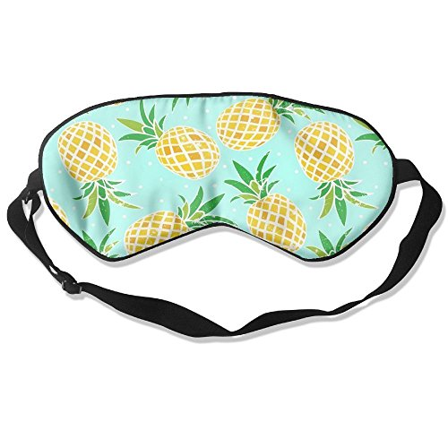 Price comparison product image Eye Masks,Pineapple Sleep Mask 100% Silk Sleep Goggles Ultra-Soft Eyeshade For Men,Women