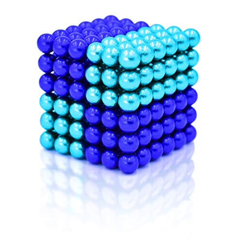 MagneBalls 5MM Magnetic Ball Set Perfect for Jewlery, Crafts, Education and Intelligence Development- Desk Sculpture Toy Provides Relief for Office Stress, ADHD, Autism, and Anxiety (Multicolored 2)