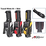 A99 Golf Travel Mate III Carryon Travel Cover Hard Case Hybrid Travel Bag with TSA Lock + One Protection Skin