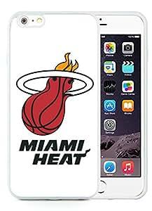 New Custom Design Cover Case For iPhone 6 Plus 5.5 Inch Miami Heat 5 White Phone Case