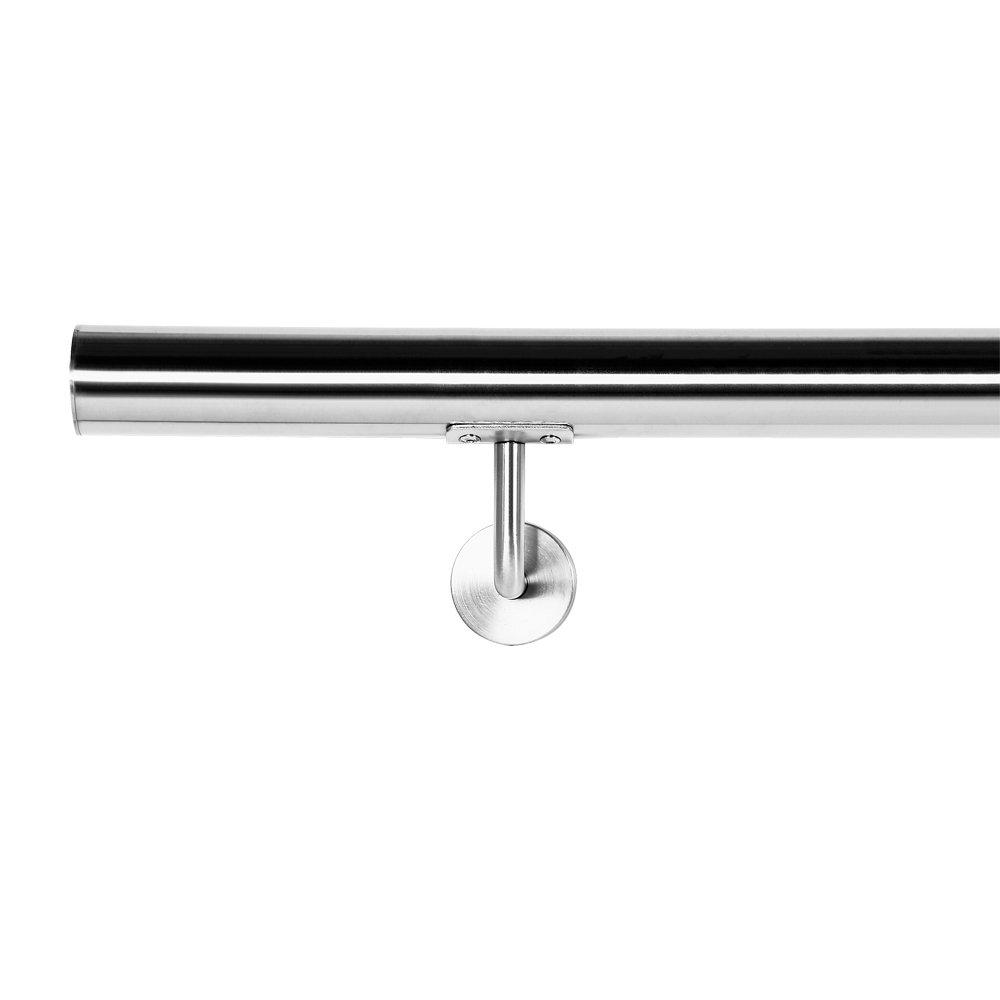 Pasamanos Barandilla Barandas 70cm Escalera Acero Inox V2A