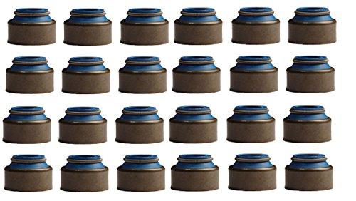 Detroit Diesel 50 60 Series Metal Clad Valve Stem Seals. Set of (24) seals. (11/32