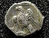 Ancient Greek Silver %28AR%29 Obol coin