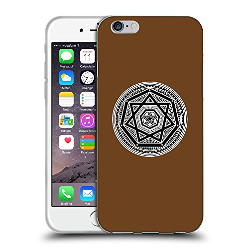 GoGoMobile Coque de Protection TPU Silicone Case pour // Q08240633 Mystique occulte 3 Sépia // Apple iPhone 7
