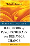 Handbook of Psychotherapy and Behavior Change 6th Edition