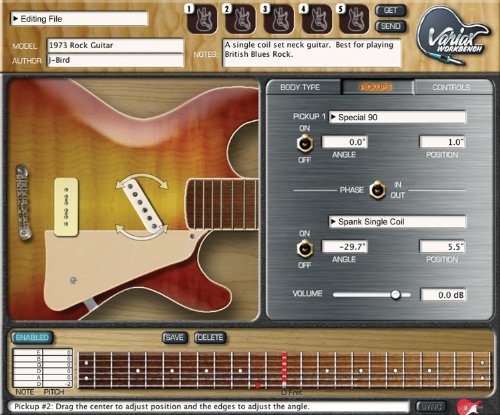 Line 6 Acoustic Amps (Line 6 Variax Workbench Guitar Software)