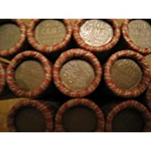 Unsearched Roll Wheat Pennies - mixed