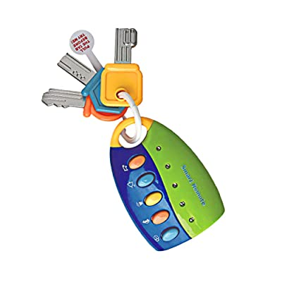 Libobo Toy Keys for Toddlers and Baby Toys-Toy Car Keys with Keychains Light and Sound (Blue): Health & Personal Care