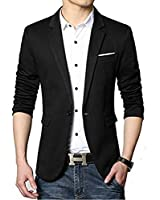 Bregeo Fashion Black Casual Blazer