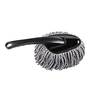 IMIKEYA Car Dash Duster Interior Multi-functional Car Duster Cleaning Brush Microfiber Car Dust Cleaning Brush Dusting Tool Car Wash Mop: Kitchen & Dining