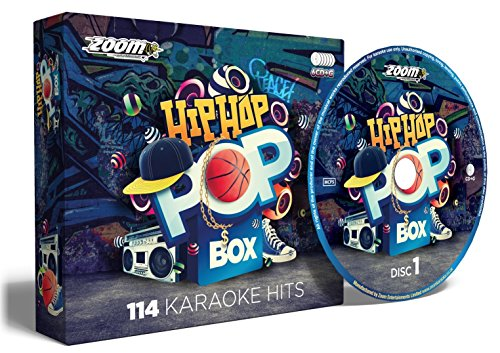 (Zoom Karaoke Hip Hop & Rap Pop Box Party Pack - 6 CD+G Box Set - 114 Songs)