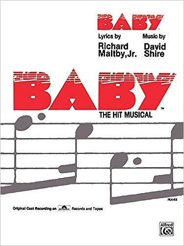 Baby Vocal Selections Pianovocalchords David Shire Richard