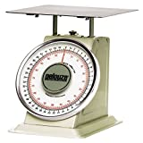 TableTop King 10B100 100 lb. / 45 kg. Mechanical Receiving Scale - Dual Read (FG10B100)