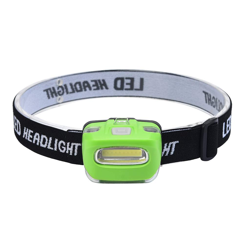 WENSY COB LED Rechargeable Headlamp Camping Hiking Waterproof Work Light Head Torch Light 3 Modes Headlight Outdoor