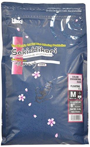 Saki-Hikari 4.4-Pound Color Enhancing Floating Pellets for Pets, Medium