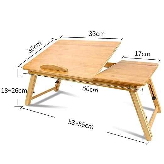 DS-mesa de ordenador Mesa de la Cama - Dormitorio Plegable ...