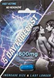 5 Day Forecast Fast Acting Male 1,600mg