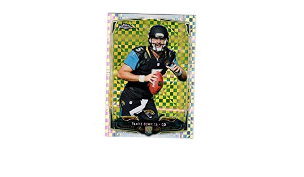 Amazon.com: 2014 Topps Chrome X-Fractor Blake Bortles #187 NM Near Mint RC Rookie: Collectibles & Fine Art