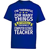 Eternally Gifted Happy Teacher Thankful For Being A Computer Science Teacher - Girl Kids T-Shirt