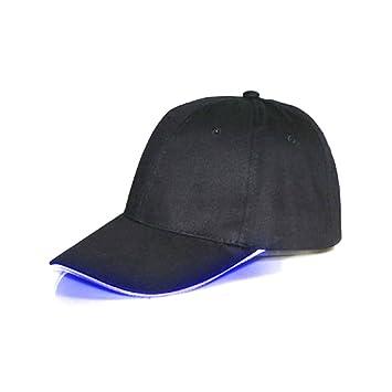 Namsan - Gorra con luz LED para caballero, de béisbol, azul ...