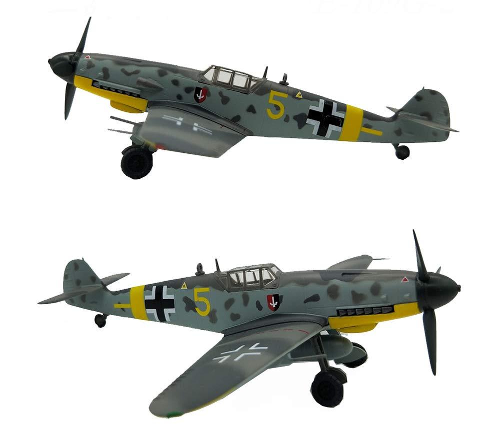 EP-model Modello di aeromobile, World War II Weapons Tedesco Bf109G Modello di Simulazione Prodotto Finto combattente, Retro Decorazione Militare Souvenir Non Souvenir,6 56