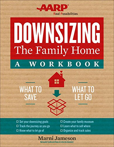 Downsizing the Family Home: A Workbook: What to Save, What to Let Go (Downsizing the Home) cover