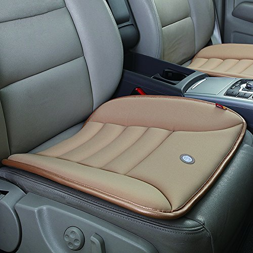 Car Seat Cushion Pad for Car Driver Seat Office chair Home Use Memory Foam Seat Cushion ()