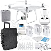 DJI Phantom 4 Advanced Quadcopter Travel Case Ultimate Bundle