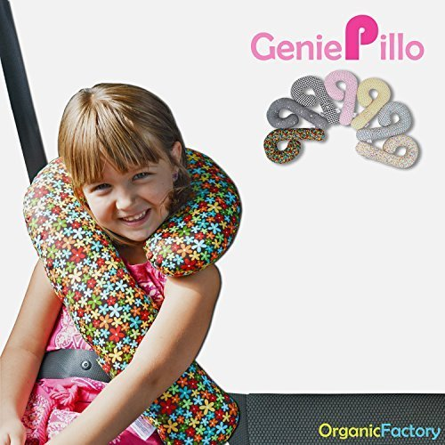 Organic Factory Kids Car Seat Head,Neck & Body Supports Pill