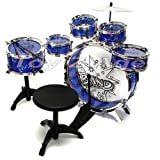 11pc-Kids-Boy-Girl-Drum-Set-Musical-Instrument-Toy-Playset