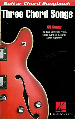 Three Chord Songs - Guitar Chord Songbook (Guitar Chord Songbooks)