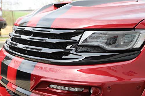 - Renegade-Design Front Grille for Jeep Grand Cherokee WK2 SRT Laredo Summit Overland 2013-2016 Fiberglass Unpainted