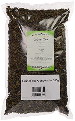 Naturix24 Grüner Tee Gunpowder - Beutel, 2er Pack (2 x 500 g)