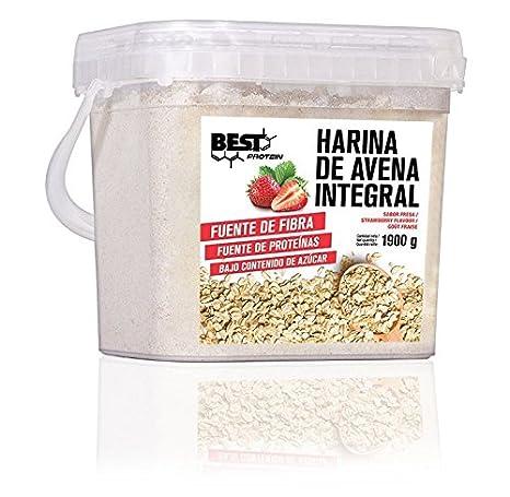 Best Protein Harina de Avena Fresa - 1900 gr: Amazon.es: Salud y cuidado personal