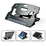 MAX SMART Tablet Drawing Stand for Digital Graphic Tablet, Folding Thin Adjustable Angles for Tablet/Artisul D13, D10, iPad Pro Wacom Cintiq (Gray)