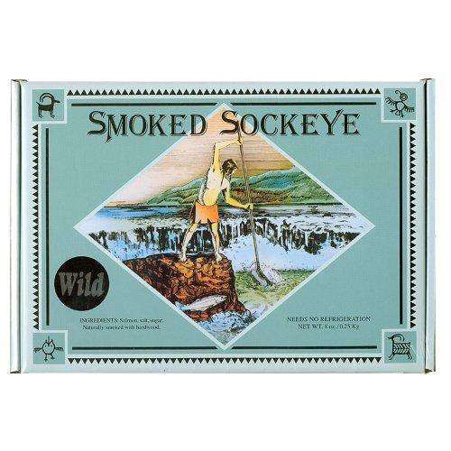 (Tony's Smoked Wild Sockeye Salmon 8 oz.)