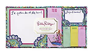 Lilly Pulitzer Sticky Note Set, Lagoon (154513)