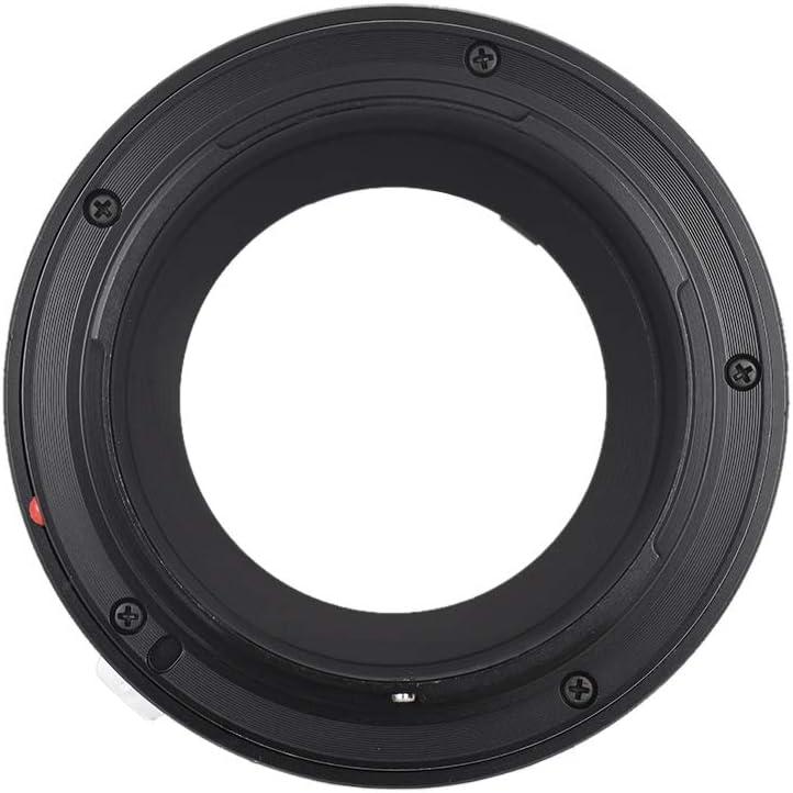 Andoer Fikaz High Precision Lens Mount Adapter Ring Aluminum Alloy for Nikon G//S//D Lens to Canon EOS R//RP RF-Mount Mirrorless Camera NIK G -EOSR