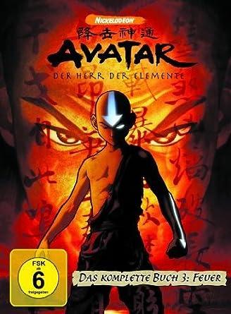 Avatar Der Herr Der Elemente Das Komplette Buch 3 Feuer 4 Dvds