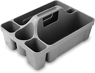 """product image for Libman Commercial 1225 Maid Caddy, 16"""" Length, 12"""" Width, Gray (Pack of 4)"""