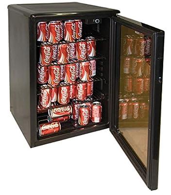 Haier HBCN05EBB 96-Can/46-Bottle Wine and Beverage Center, Black