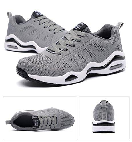 Sportive Interior Grigio Running Casual Da Ginnastica Sneakers 44 Fitness Scarpe All'aperto Donna Basse 34 Air Uomo Corsa Eu 7T8wYPxq