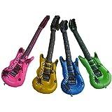 4Pcs Inflatable Guitar Accessories for Party -Random Color