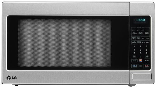 : LG LCRT2010ST 2.0 Cu Ft Counter Top Microwave Oven with Easy Clean, Stainless Steel