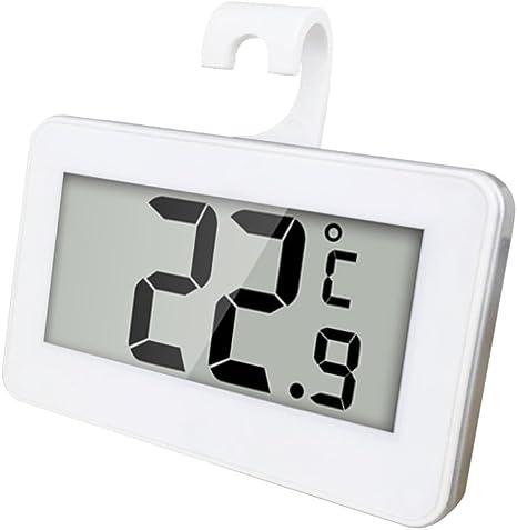 JESWELL Mini Digital Termómetro para Frigorífico y Congeladores ...